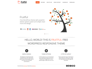 Fruitful WordPress thema